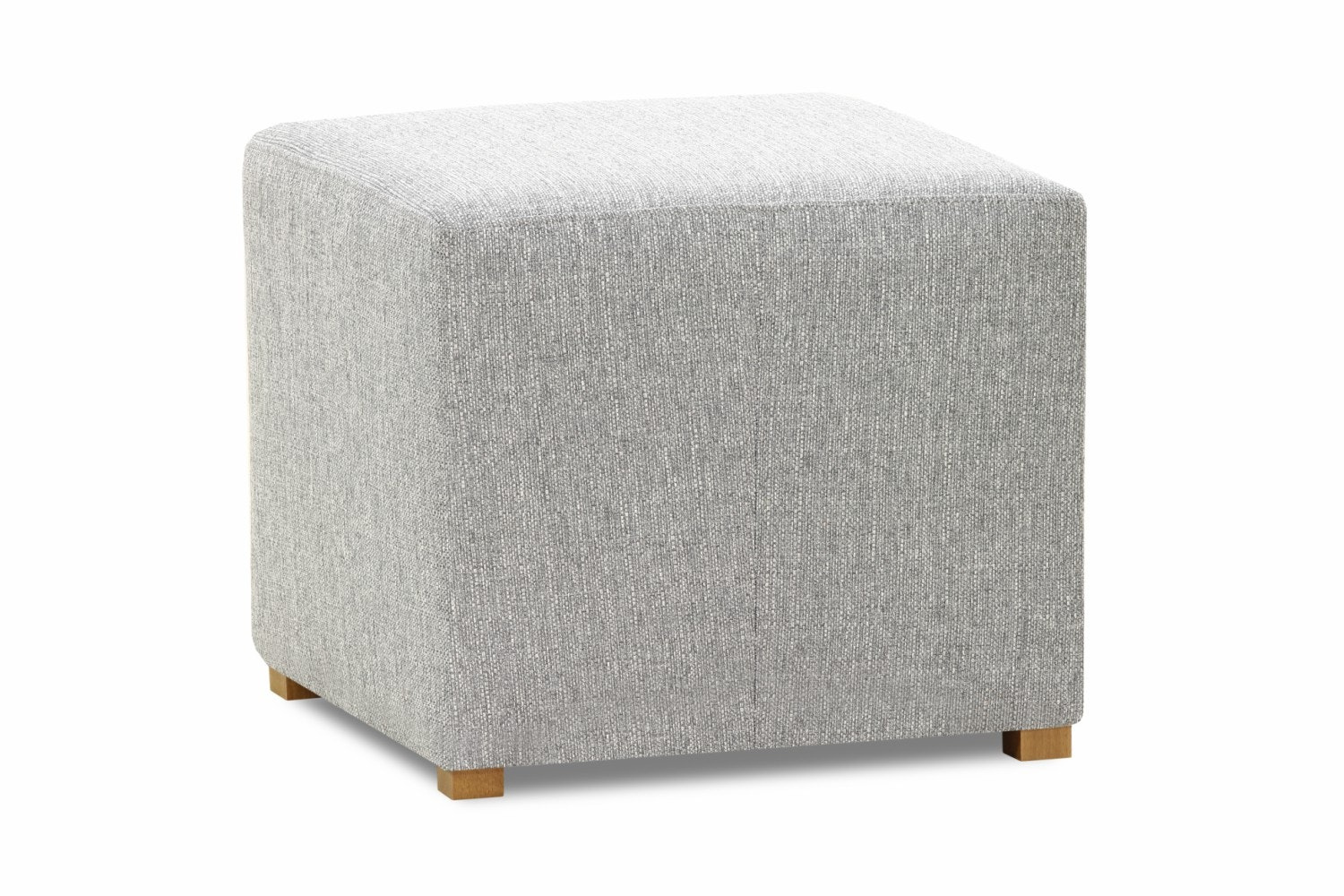 Pufa Bedroom Stool Cube | Portland Grey