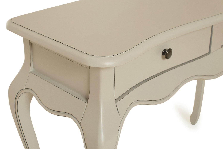 Harrogate Dressing Table | 2 Drawer| Antique Grey