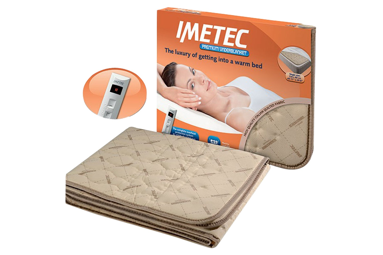 Imetec Double Under Blanket Dual Control