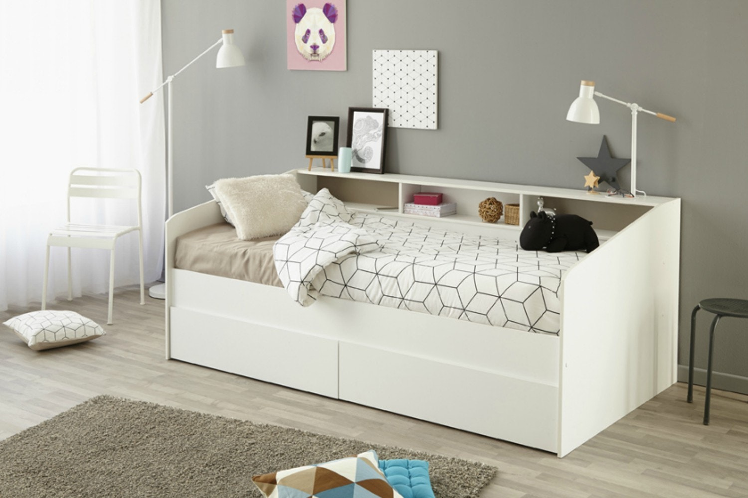 Justin Day Bed with Storage