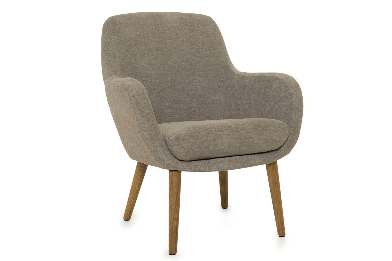 Sally Bedroom Armchair Grey Ireland