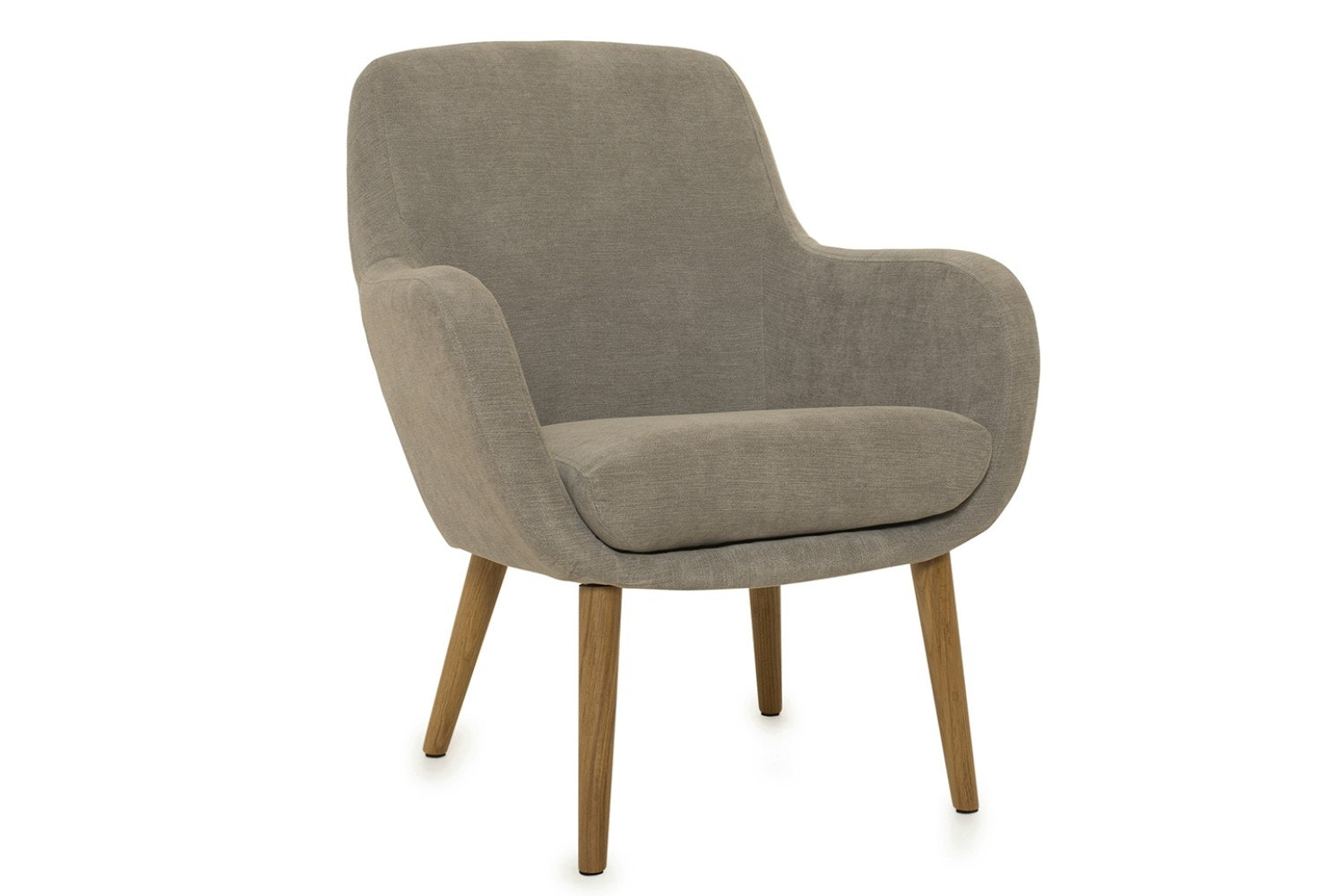 Sally Bedroom Armchair | Grey