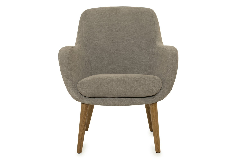 Sally Bedroom Armchair | Grey