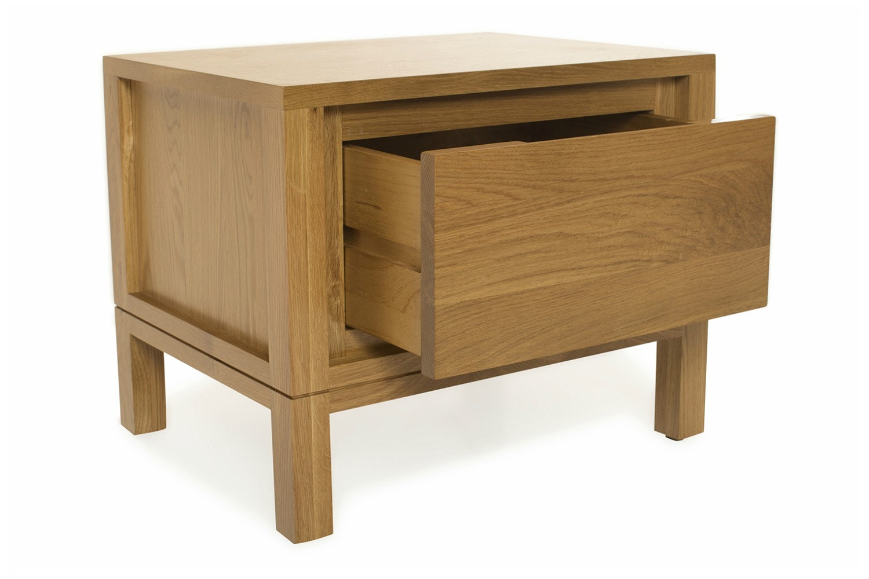 Virgo Bedside Table   1 Drawer