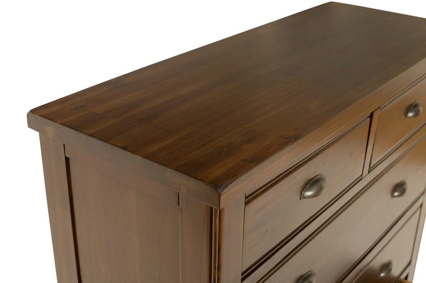Wellington Chest |Walnut| 3 + 2 Drawers