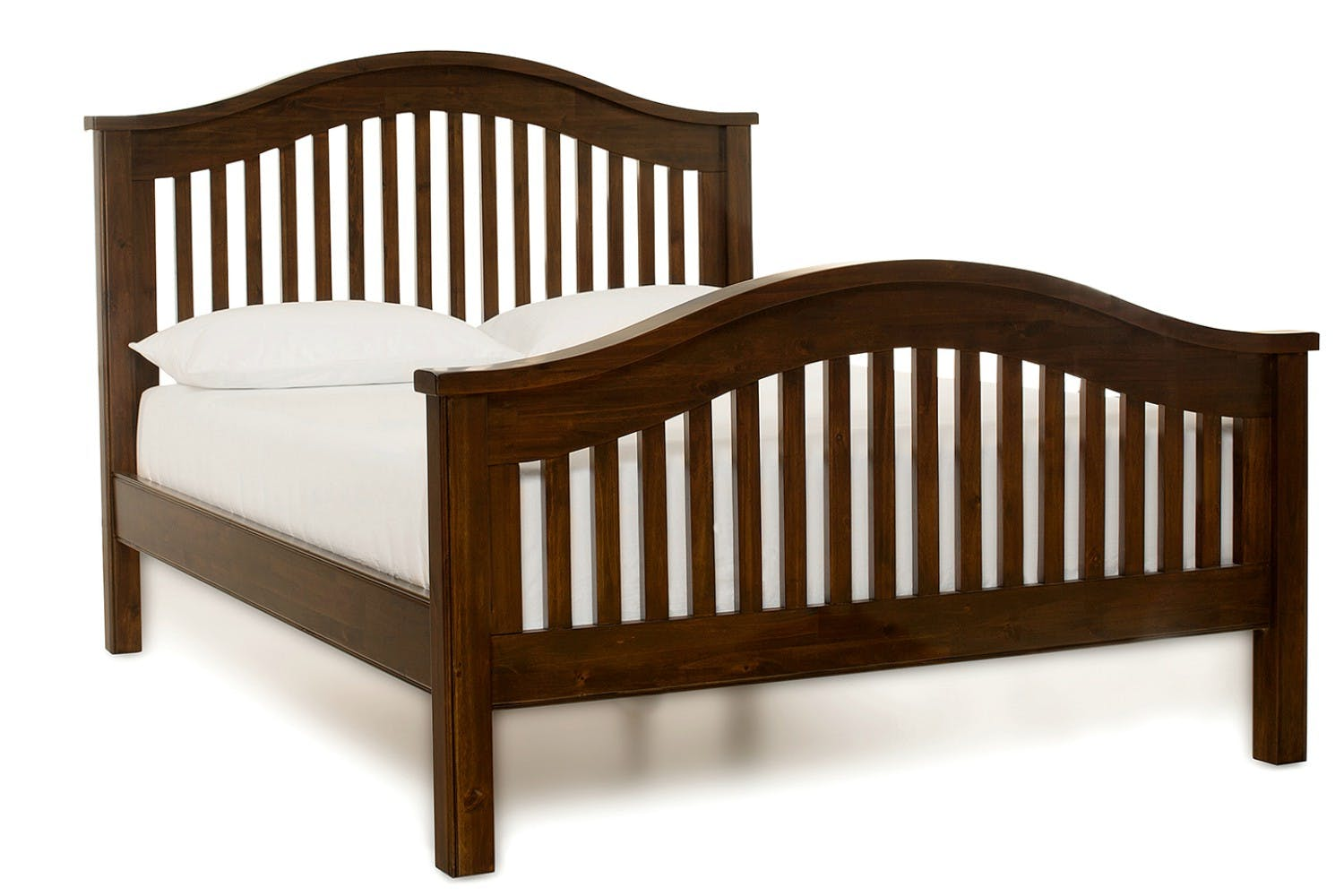 Wellington bed frame walnut 6ft ireland for Beds wellington