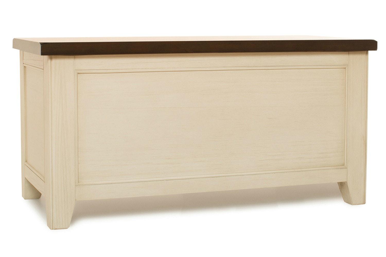 Wellington Blanket Box |Cream