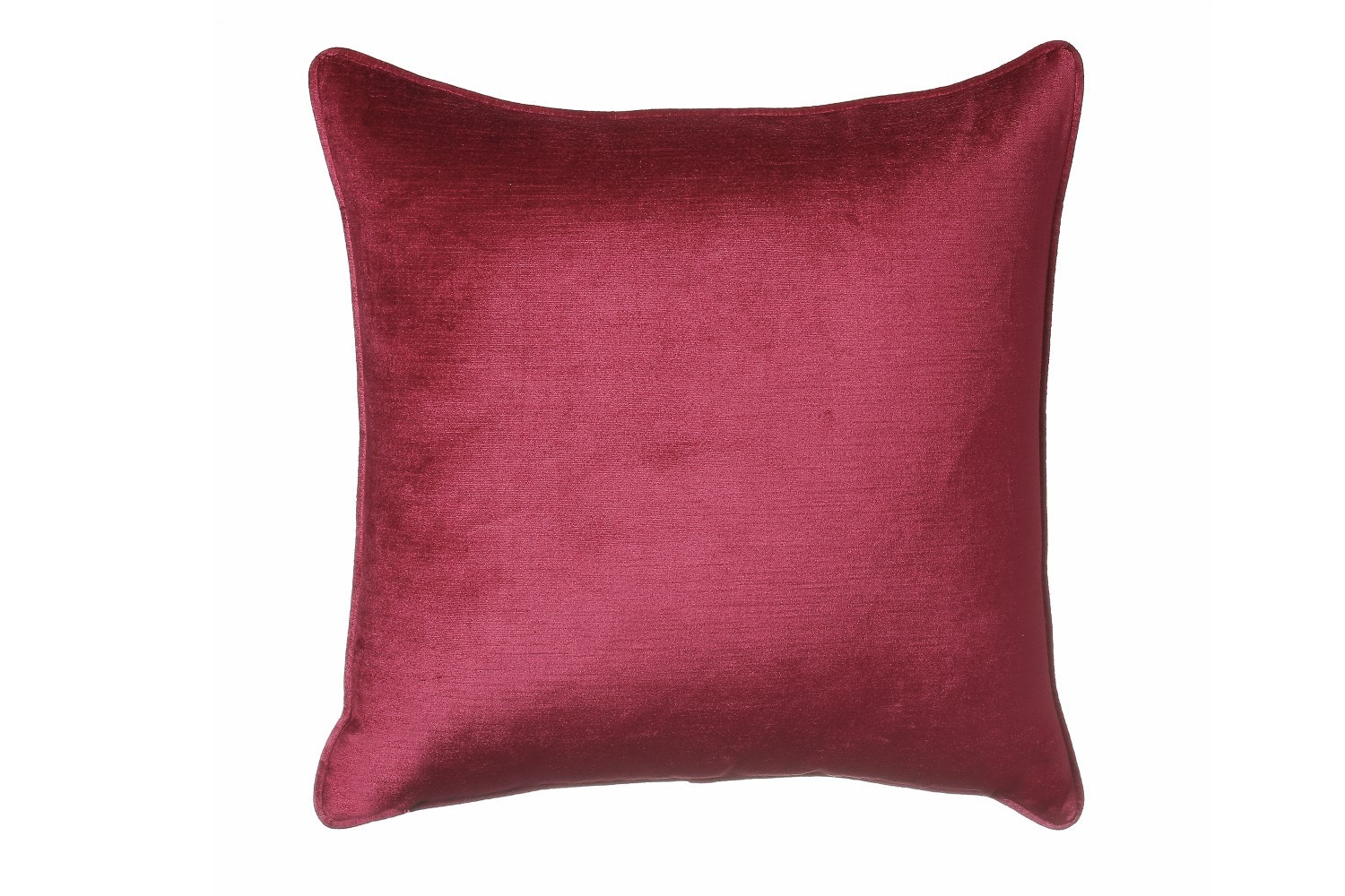 Scatterbox Velvet Sheen Duo Cushion| 45cm | Red & Grey