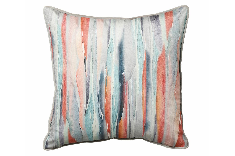 Scatterbox Watercolour Stripe Cushion | 45x45
