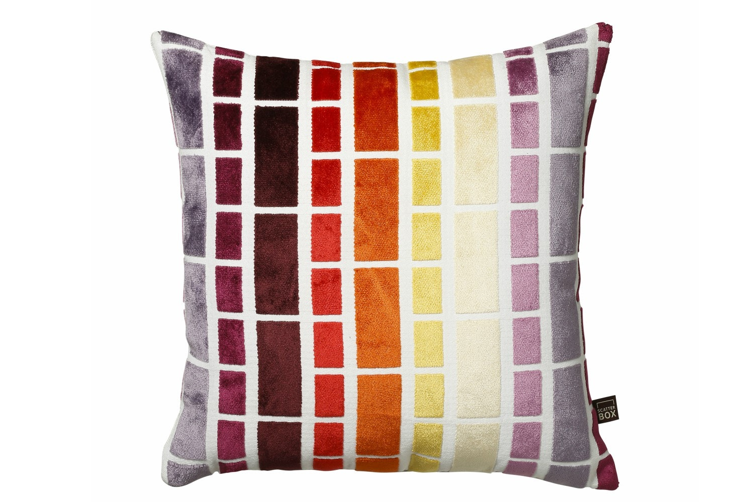 Scatterbox Prism Stripe Cushion | 43x43