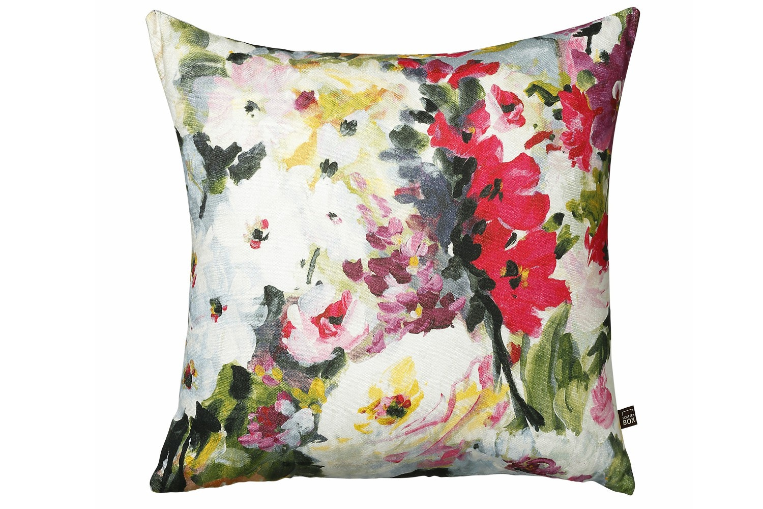 Scatterbox Watercolour Floral Cushion | 58x58
