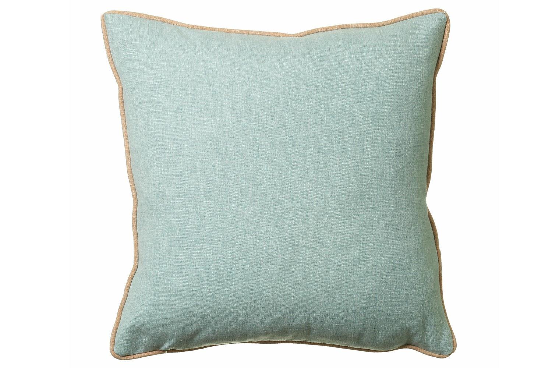 Scatterbox Luna Duo Cushion | 58x58 | Aqua & Coral