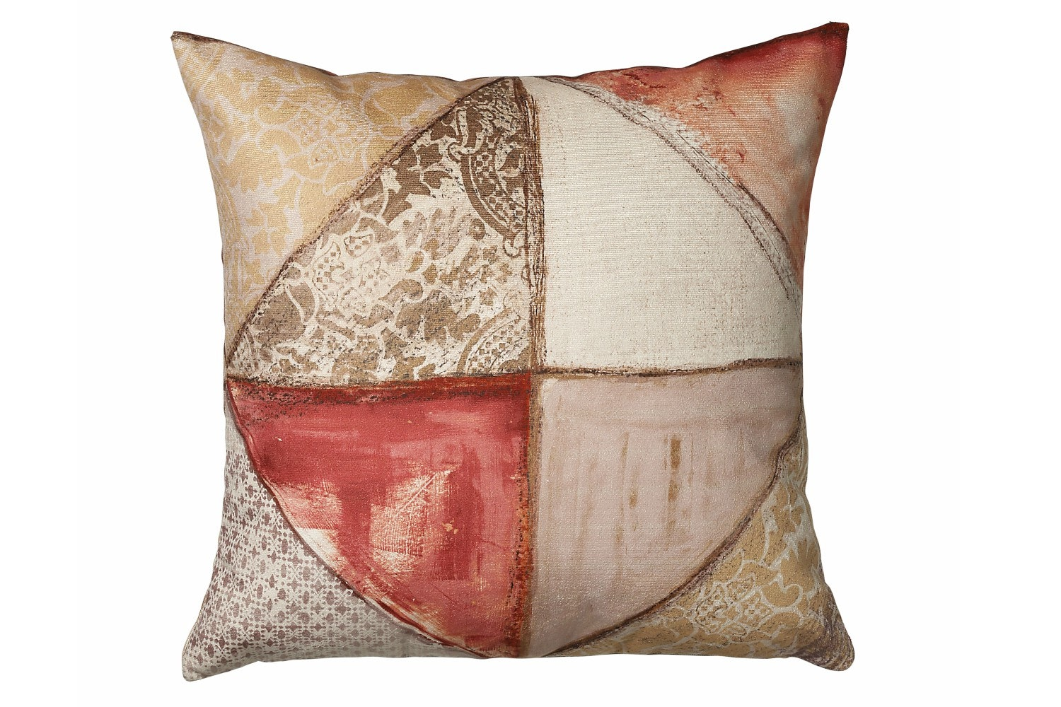Scatter Box Collage Cushion | 43x43 | Terra