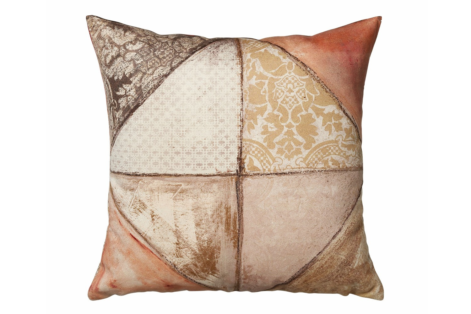 Scatterbox Collage Cushion | 43x43 | Terra