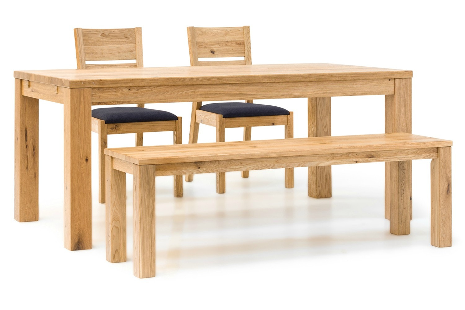 Jensen Dining Set | 4 Piece | 2 Chairs and Bench