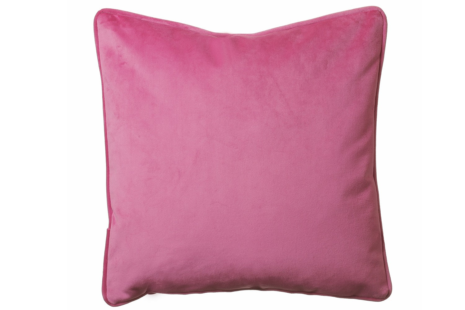 Scatterbox Hudson Velour Cushion | 43x43 | Pink