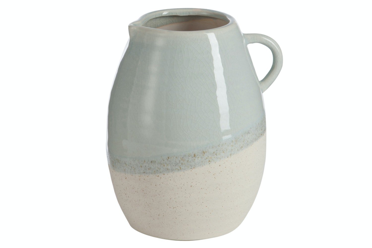Jug Cream | Grey & Beige | Large