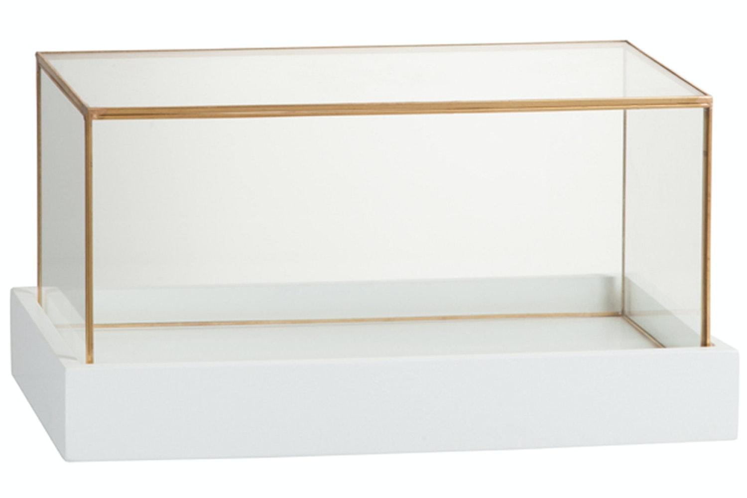 Glass Bell Plate