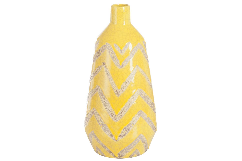 Vase Mexico Terracotta Yellow