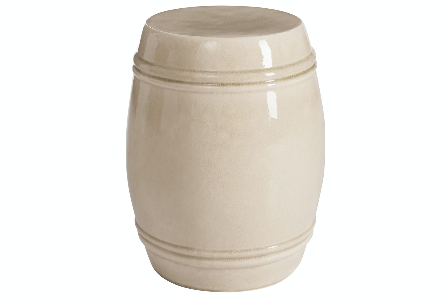 Stool Ceramic Beige