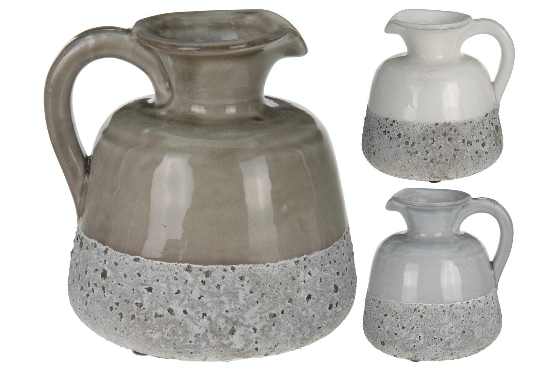 Textured Ceramic Jug | Medium