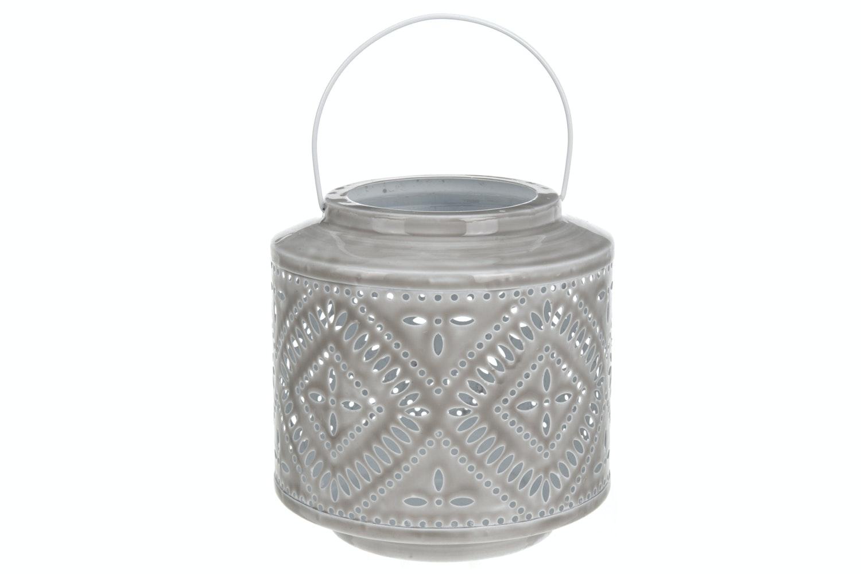 Grey Design Tealightholder