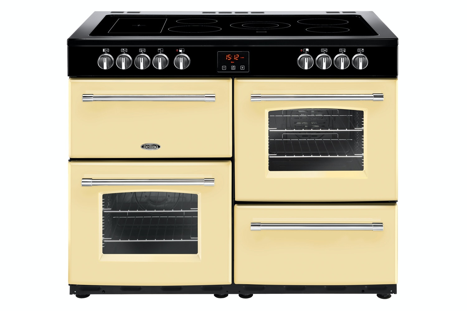 Belling Farmhouse 110cm Electric Range Cooker | FH110ECR