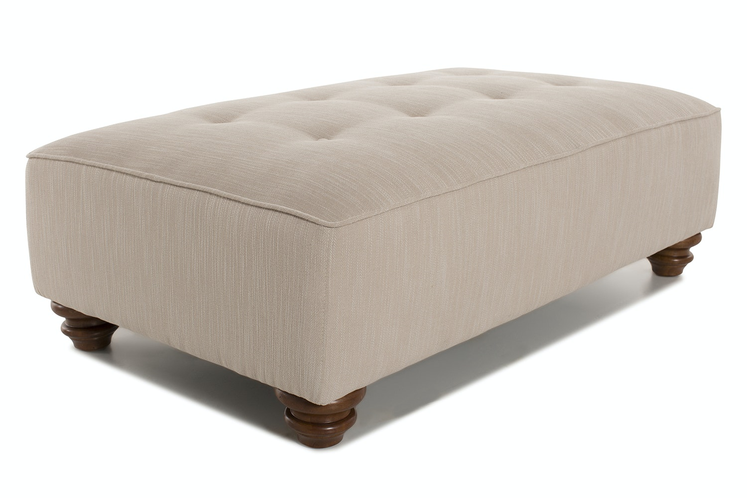 Brandi Footstool Marinello | Light Natural