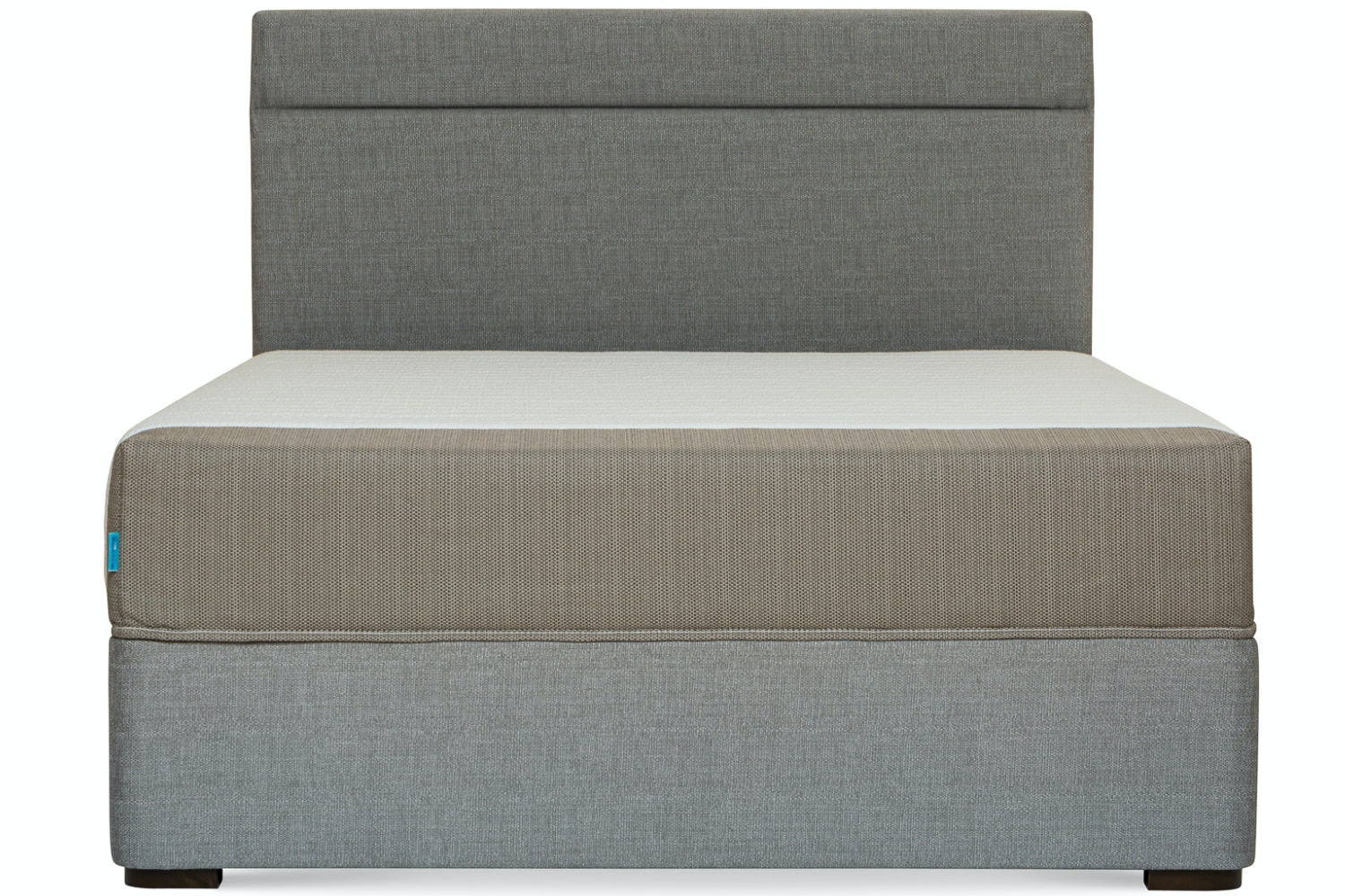 Duval Bed | Horizontal Stitch | Grey | 4ft6