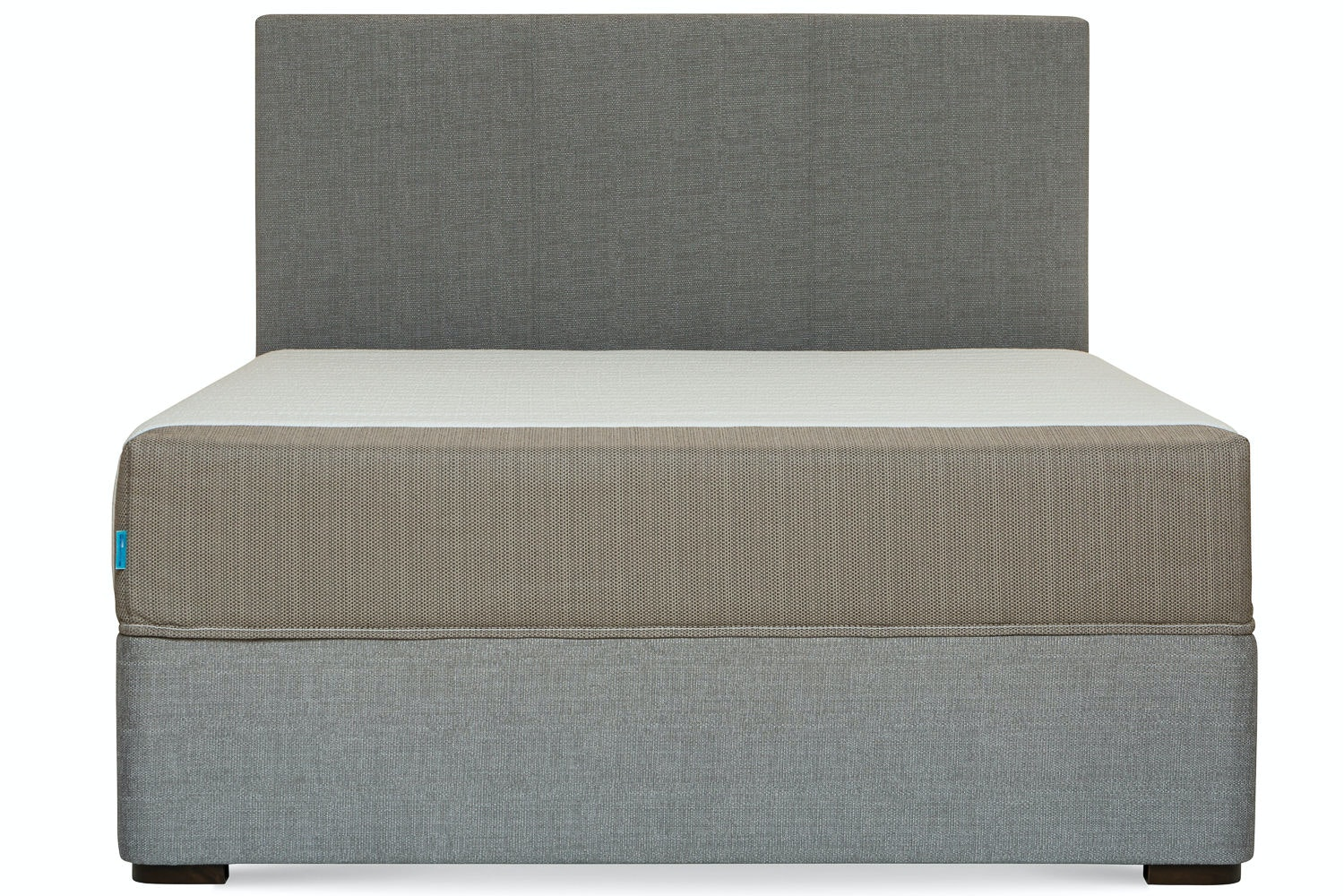 Duval Bed | Vertical Stitch | Grey | 6ft