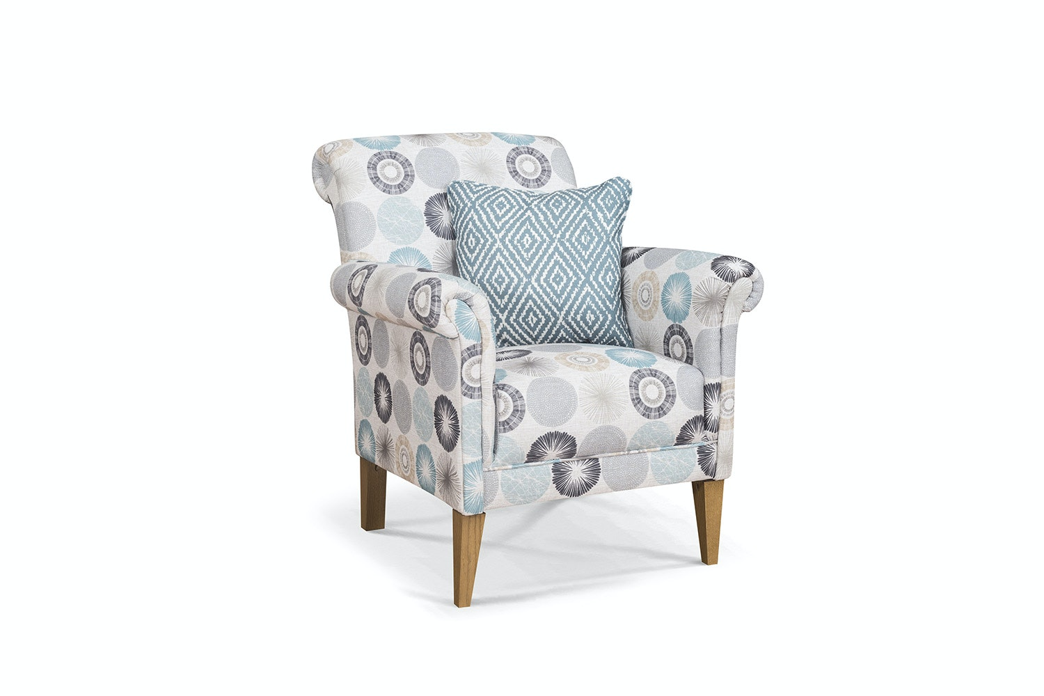 Preston Bedroom Chair | Ramsey Spa with Scatter