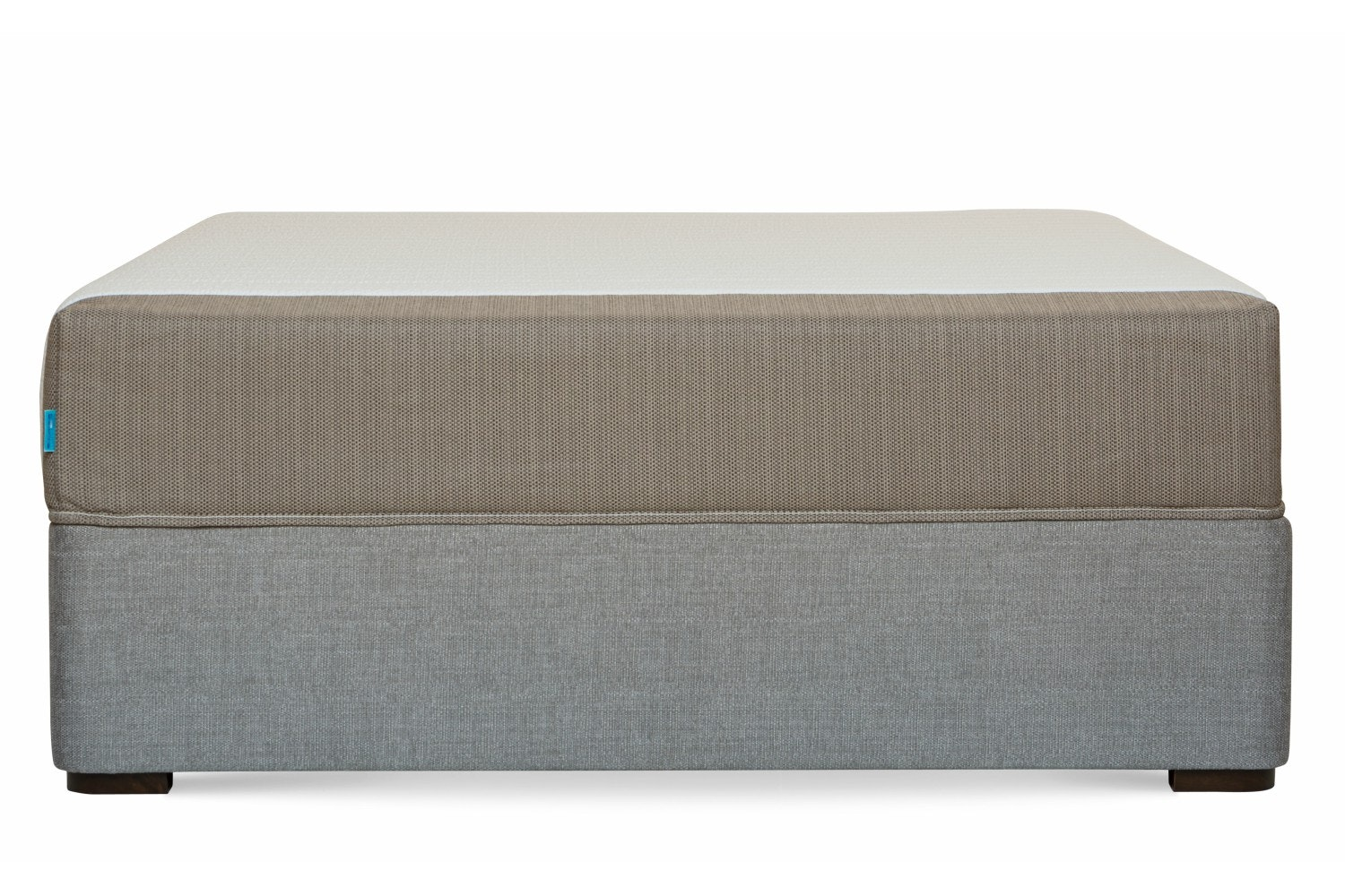 Duval Bed | Vertical Stitch | Grey | 4ft6