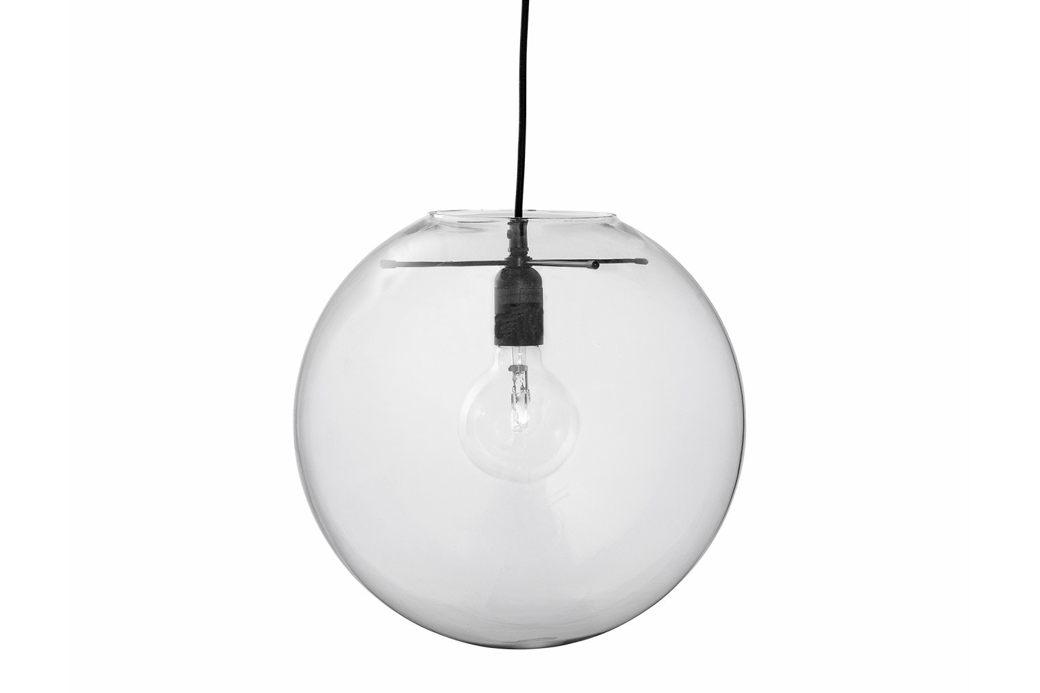 Clear Glass Hanging Lamp