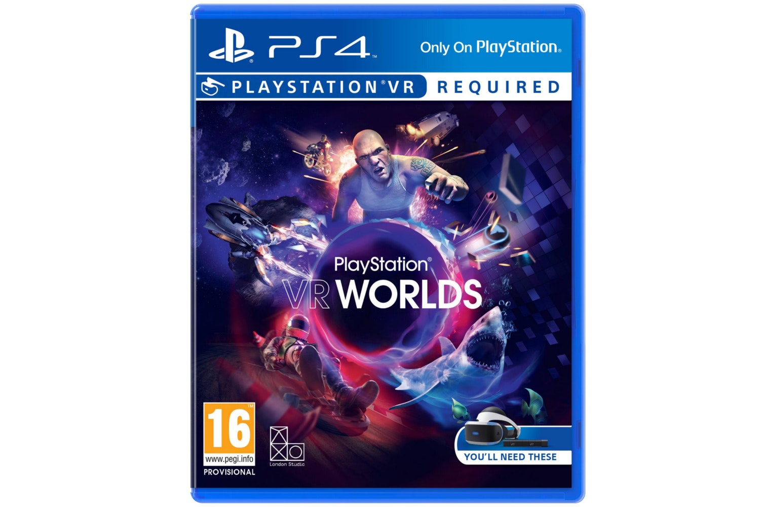 VR Worlds | PS VR Game