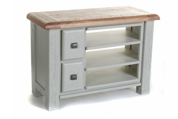 Queenstown Tv Unit Small Painted Grey