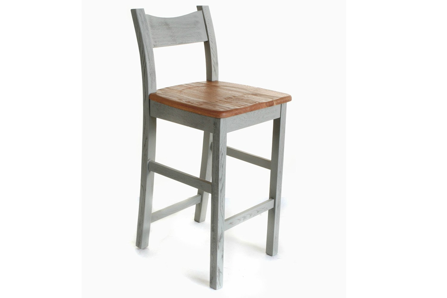 Queenstown Bar Stool | Painted Grey