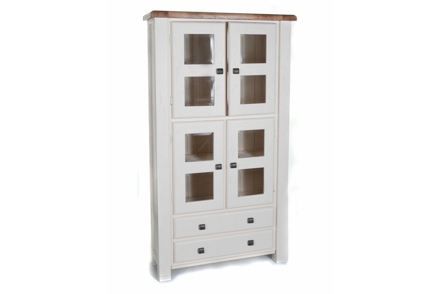 Queenstown Display Cabnet | Painted White