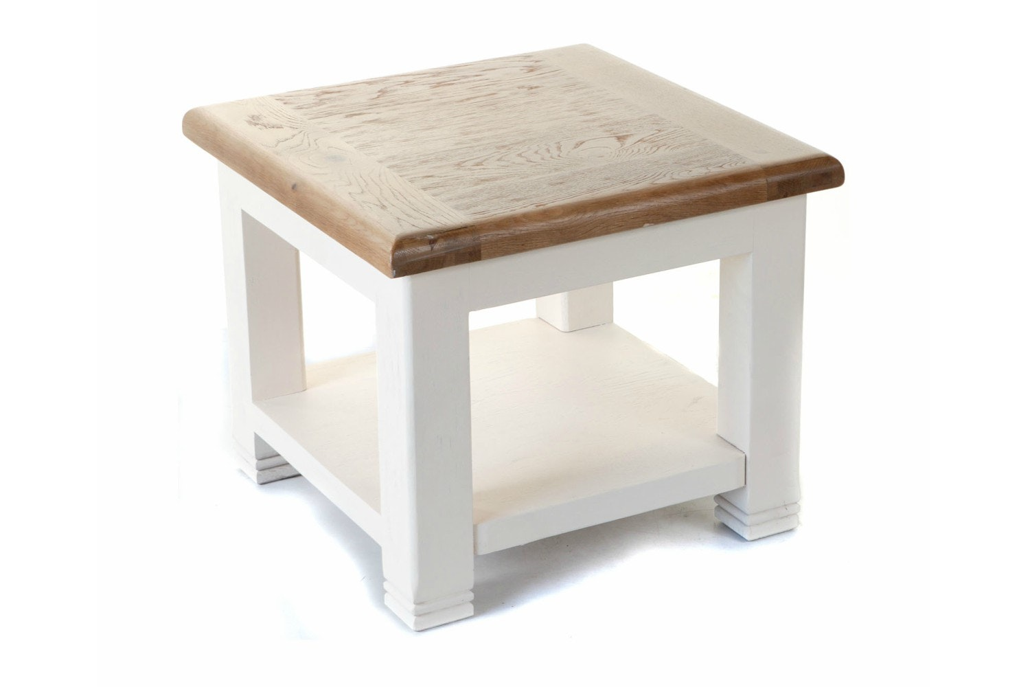 Queenstown Lamp Table | Painted White