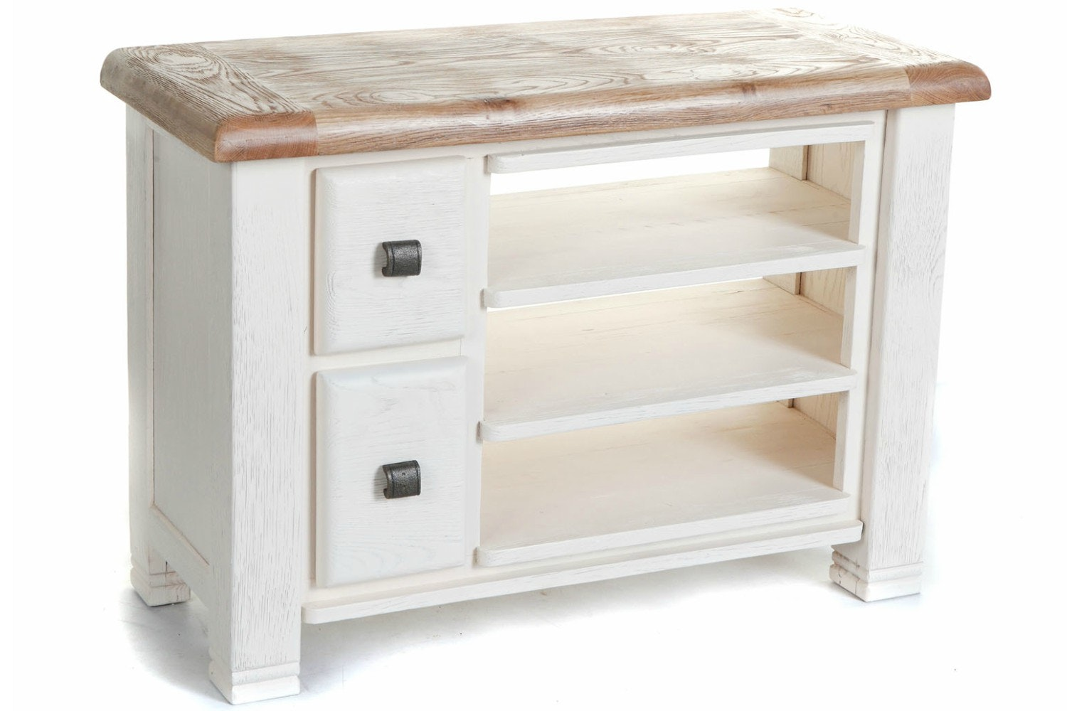 Queenstown TV Cabinet | Small | Painted White