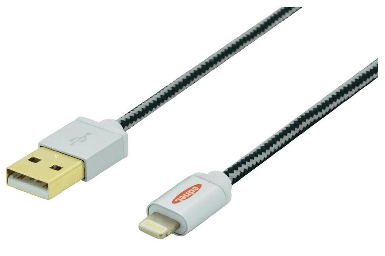 Ednet Braided Lightning Cable   1m