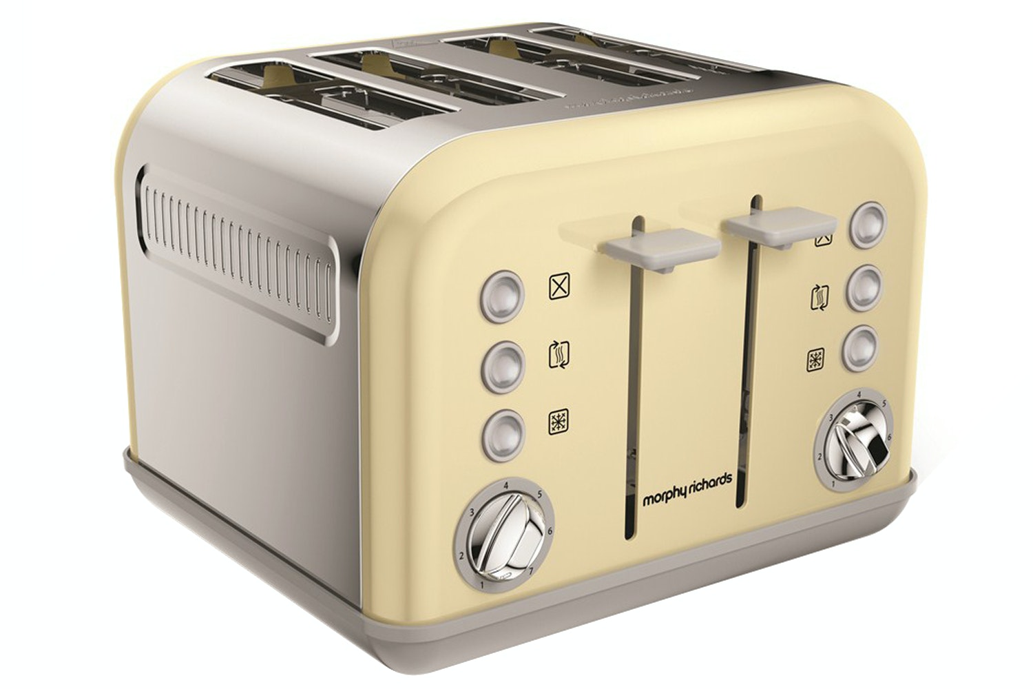 Morphy Richards 'Accents' 4 Slice Toaster | 242033 | Cream