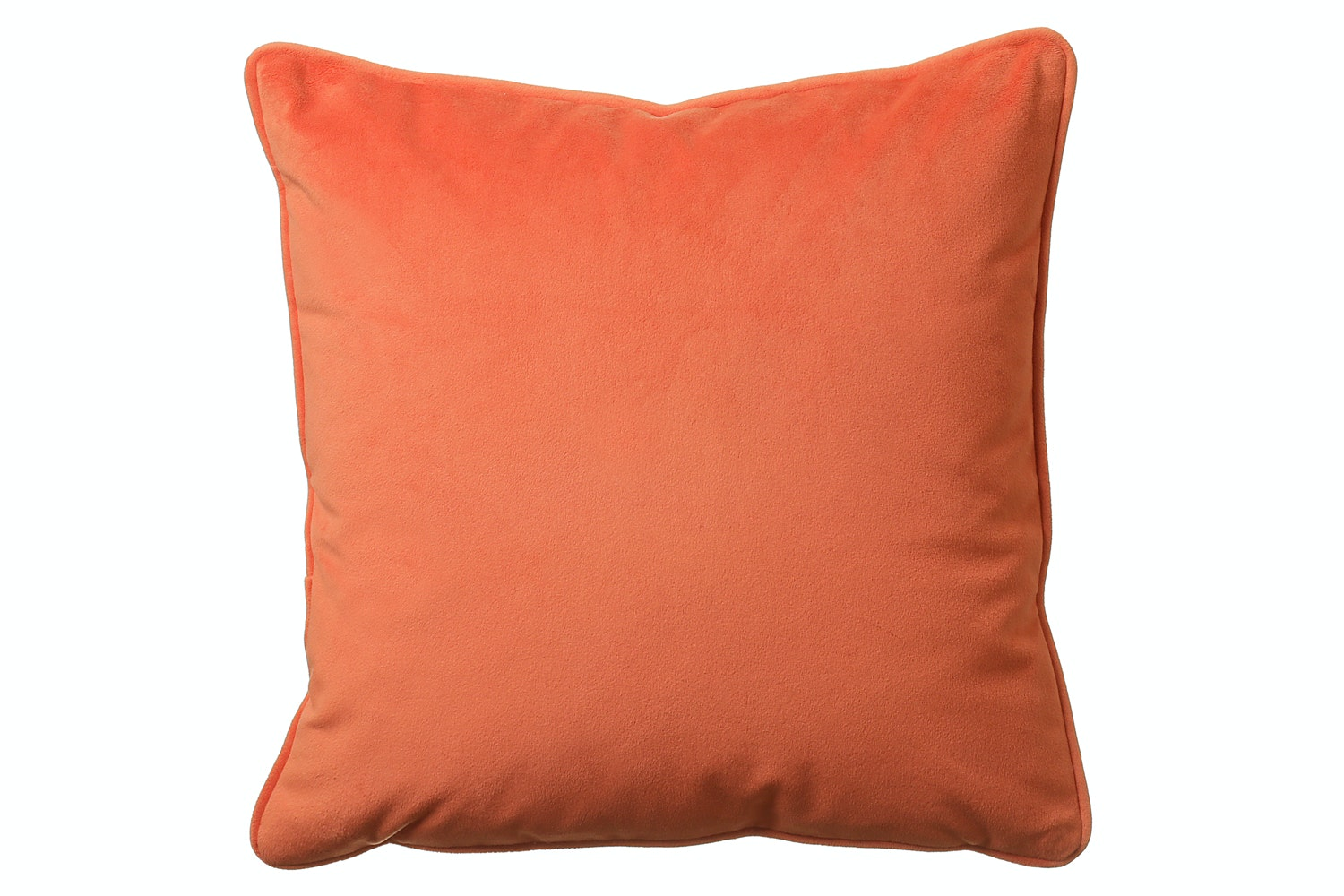 Scatterbox Velour Piped Cushion |  Coral