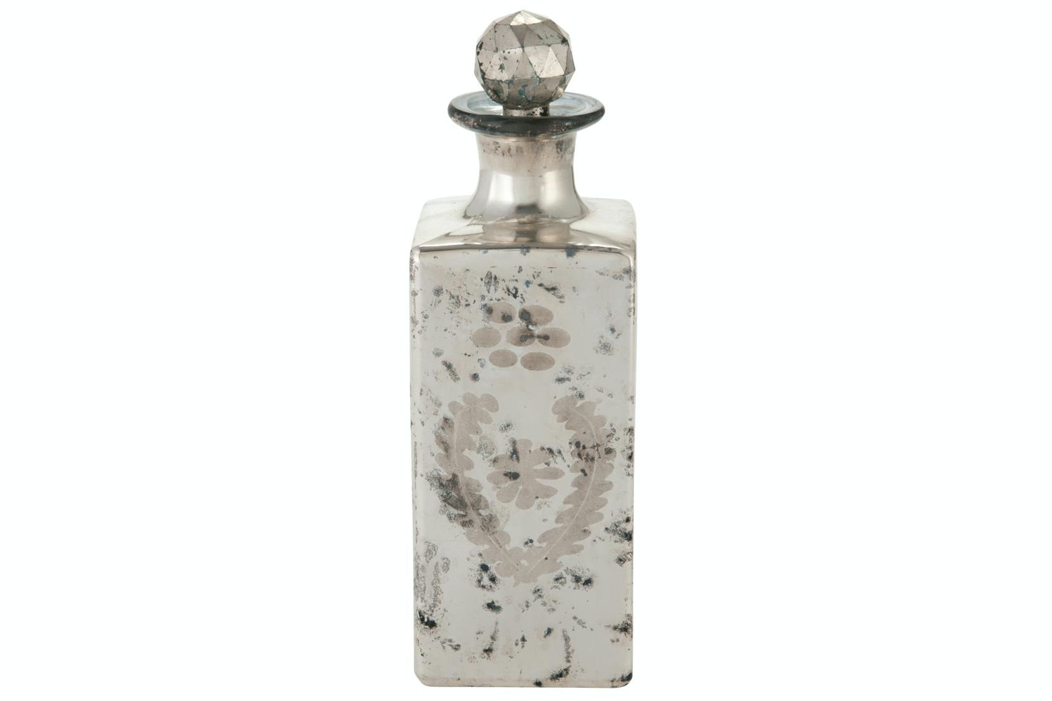 Antique Silver Large Bottle