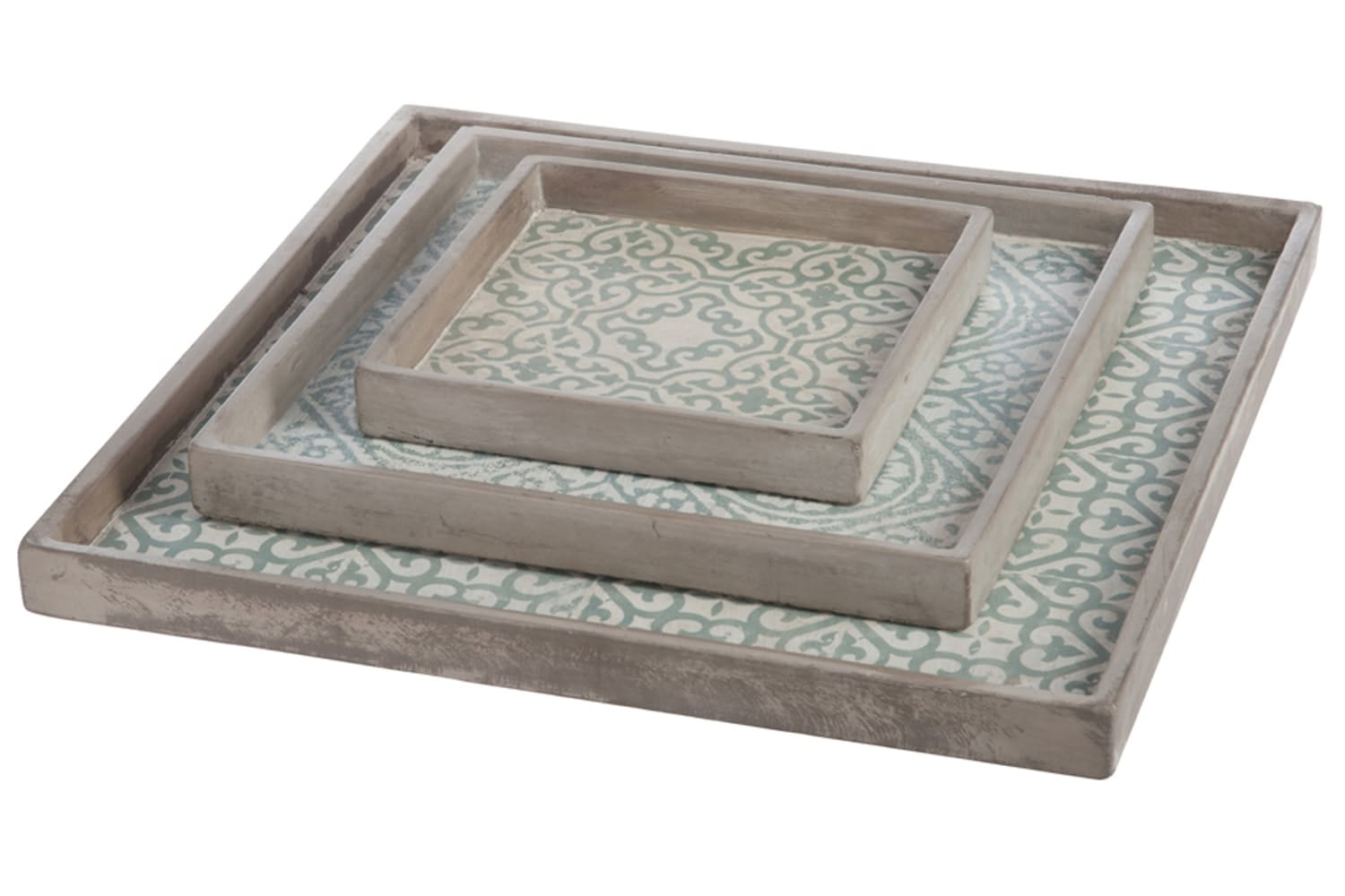 Tray Cement Mint Orient | Small