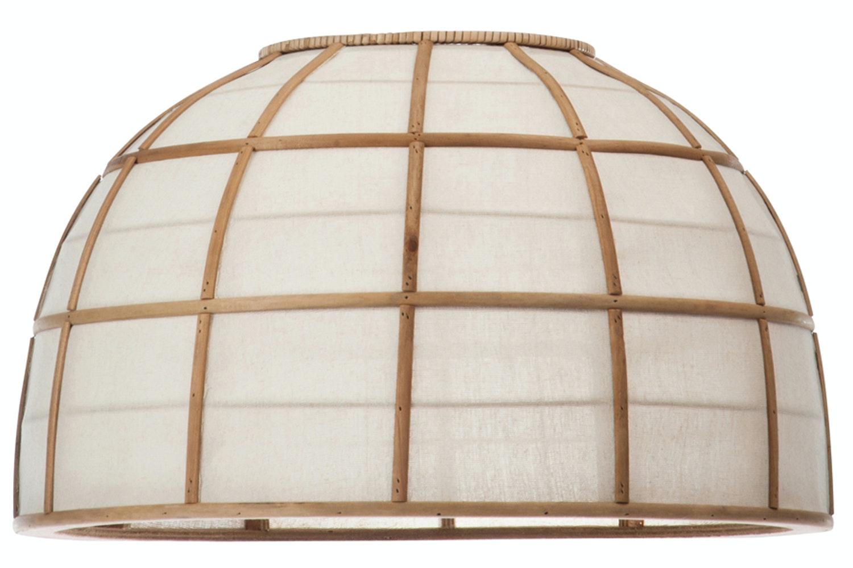 Round Bamboo Lamp Shade
