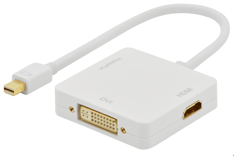 Ednet 3-in-1 Mini DisplayPort Adapter