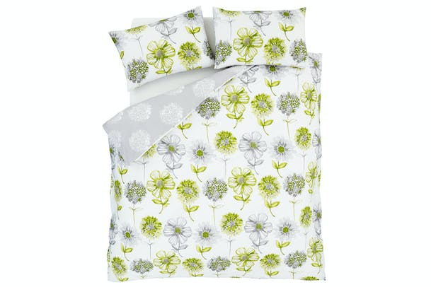 Banbury Floral Green Duvet Cover Set | Single