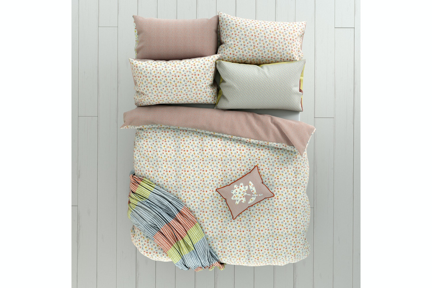 Eva Duvet Cover set | Double | Denim