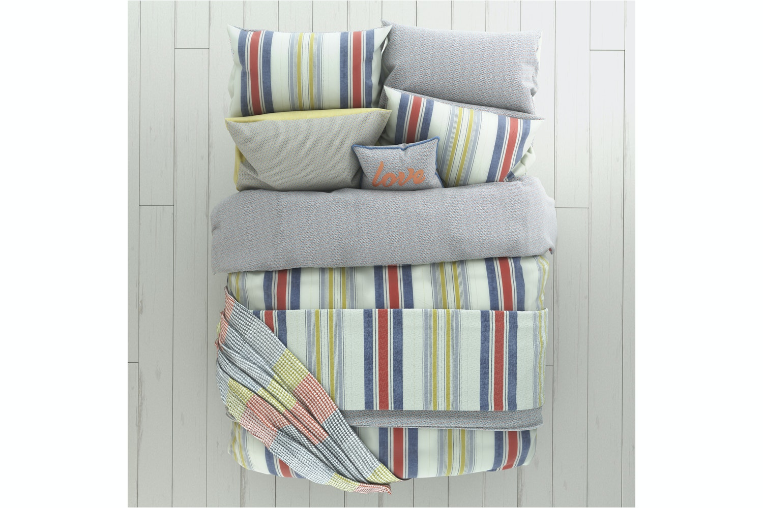 Roxy Duvet Cover Set | Super King | Denim