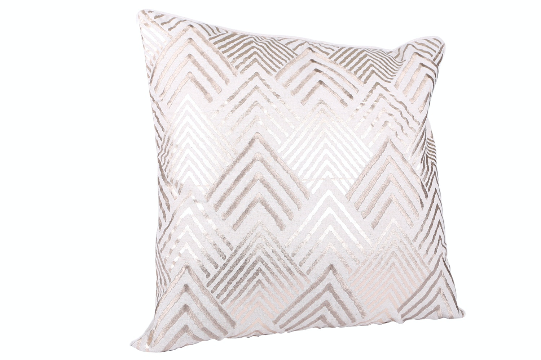 Geometric Foilprint Cushion